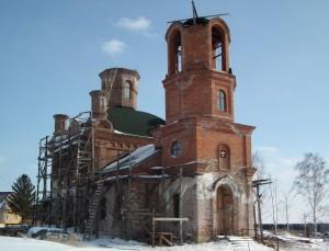 Храм свт.Николая 2015 год.