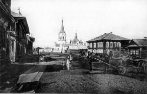 Никольский собор вид с Никольской (Чердынцева.