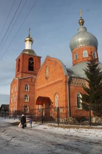 Вид собора с колокольней 06.11.2015.