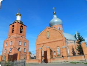 Кафедральный Свято-Никольский собор г. Мариинск