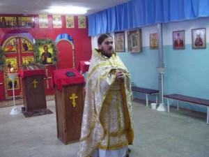 Молебен вхраме св. вмч.Варвары